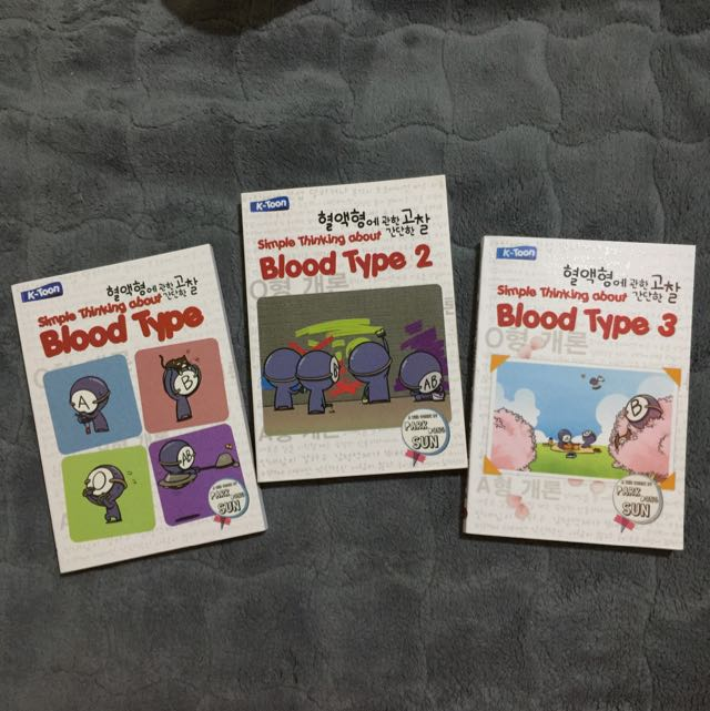 Simple Thinking About Blood Type 1 2 3