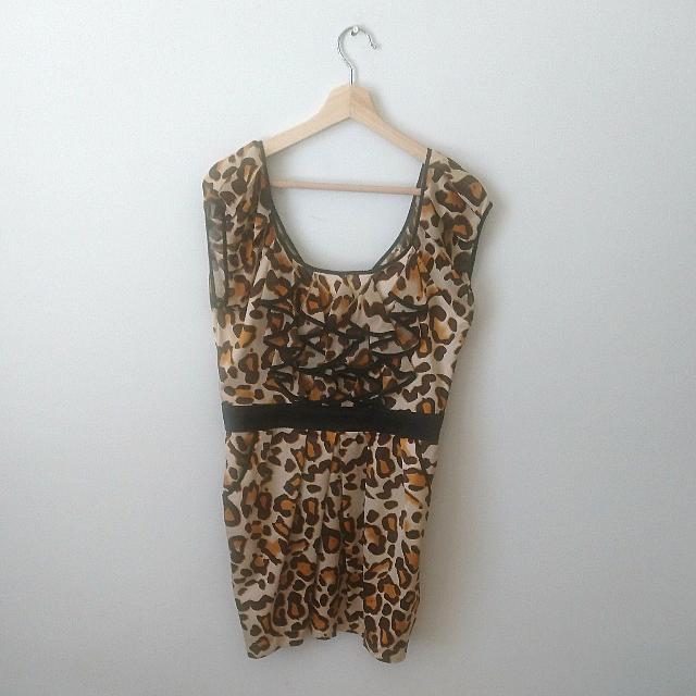 Size 14 | *NEW* Animal Print Dress