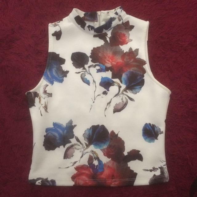 Something Borrowed High Neck Top