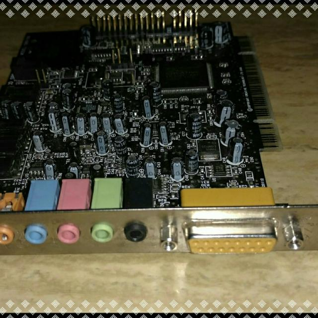 Sound Blaster Live 51 PCI Card Everything Else On Carousell