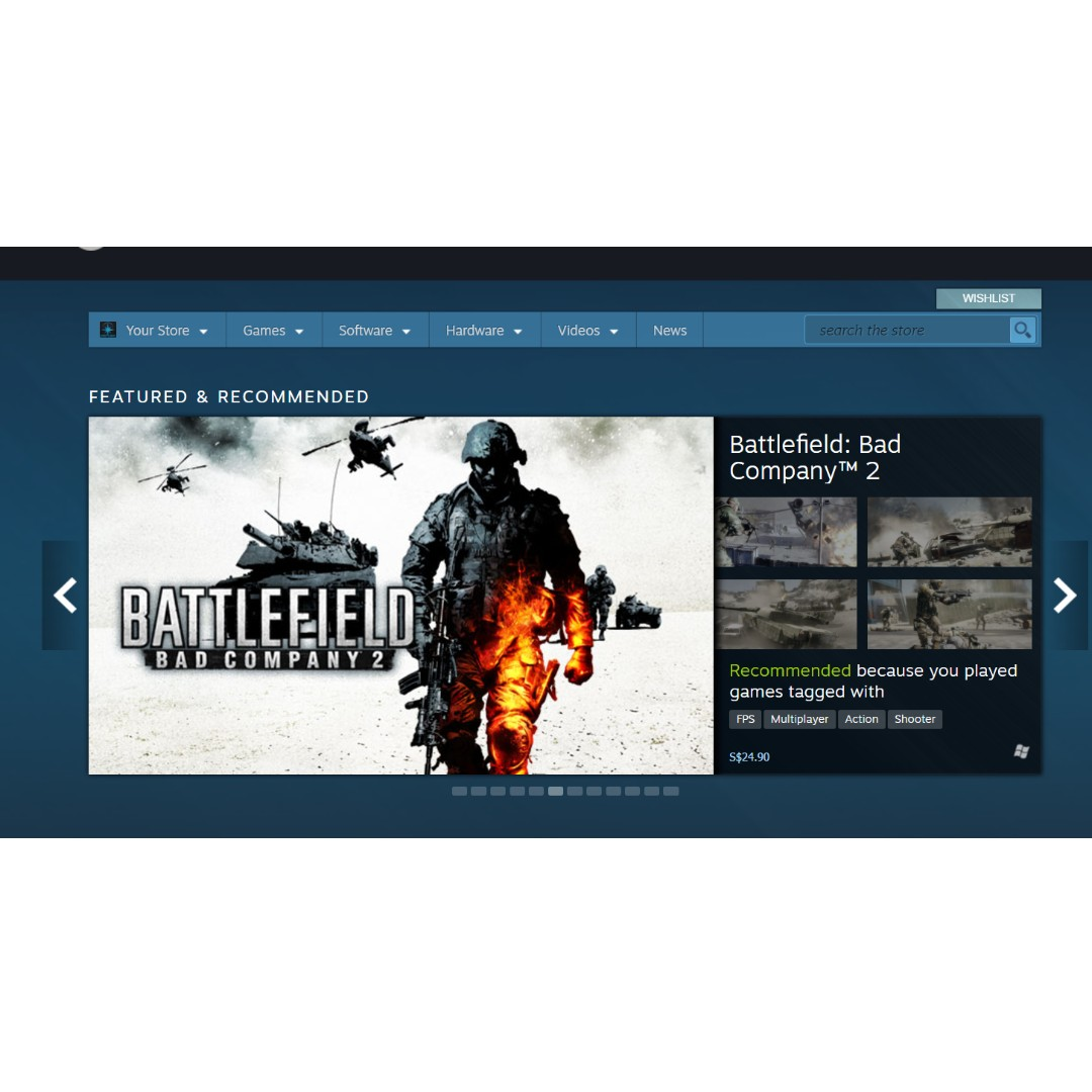Steam Wallet Toys Games Video Gaming On Carousell 2