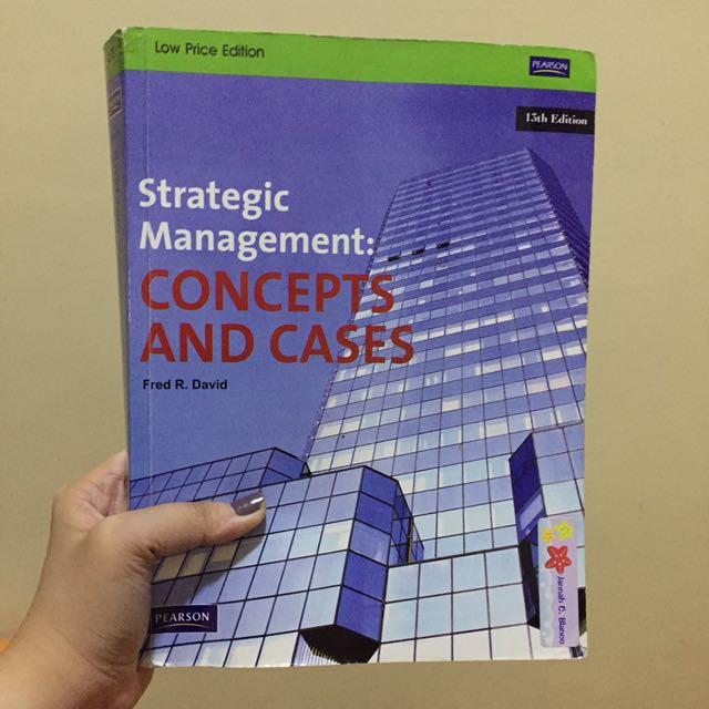 Strategic Management (Concepts & Cases)