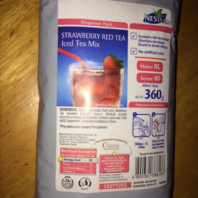 Strawberry Red Tea