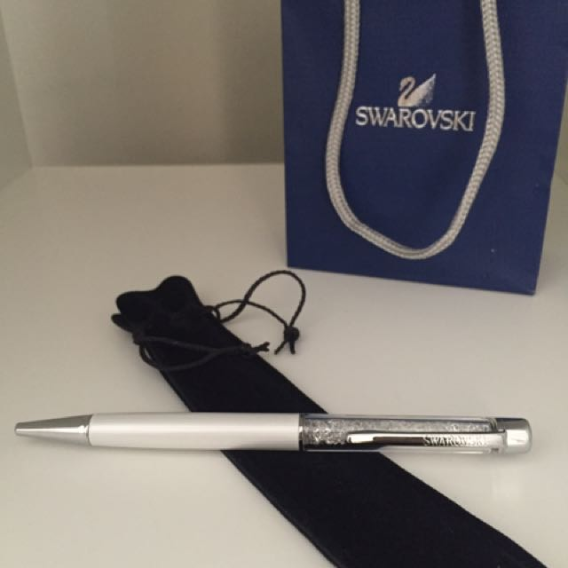 Swarovski White Pen