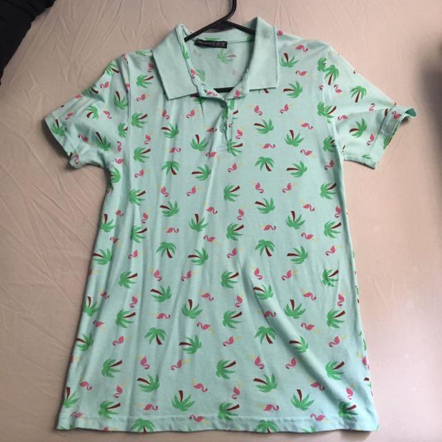 [SYDNEY] Summer Flamingo Polo