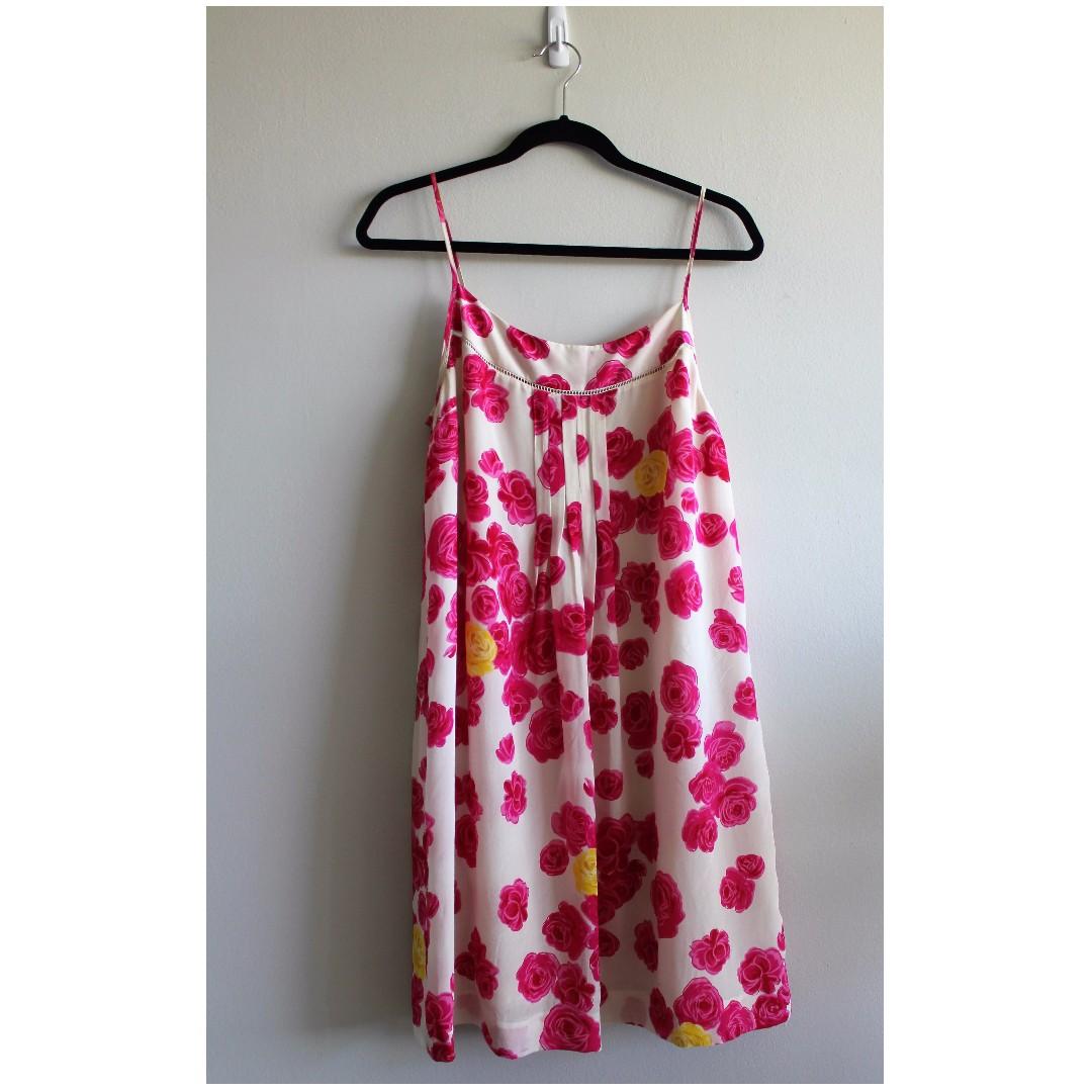 Sz 8 - Anthropologie Moulinette Souers Silk Dress