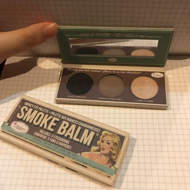 The Balm Smoke Balm Smokey Eye Palette (3 Eyeshadow)