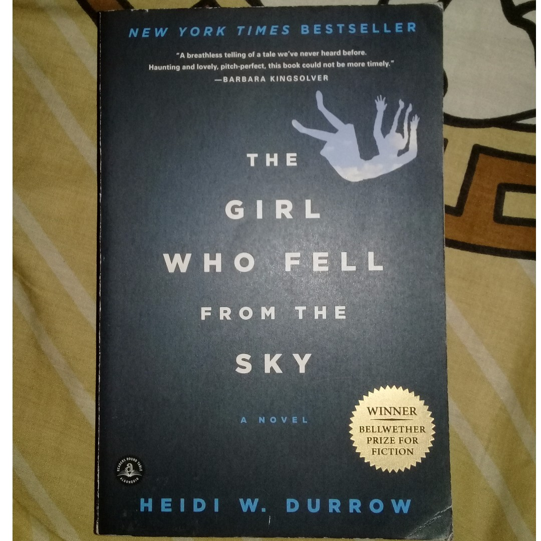 The girl who fell from the sky by Heidi Burrow