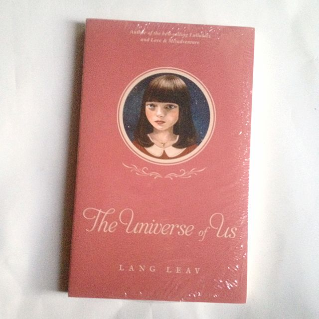 The Universe of Us Poetry Book by Lang Leav