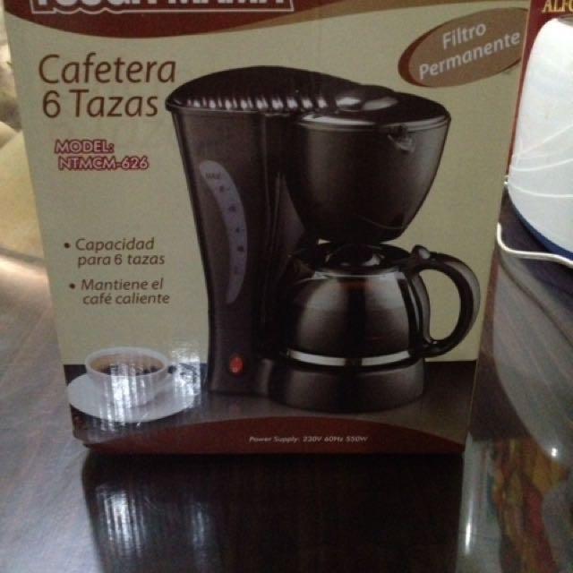 Tough Mama: 6 Cup Coffee Maker