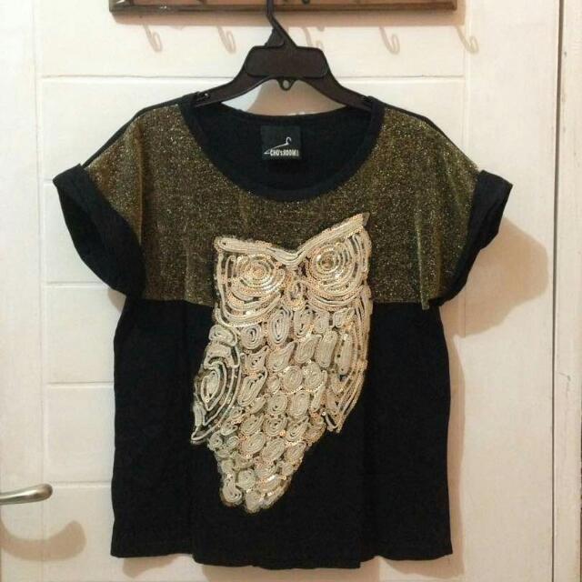 Tshirt Fashion Owl All Size Fit To XL