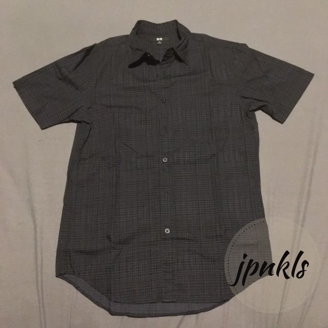 Uniqlo Broadcloth Dark Gray