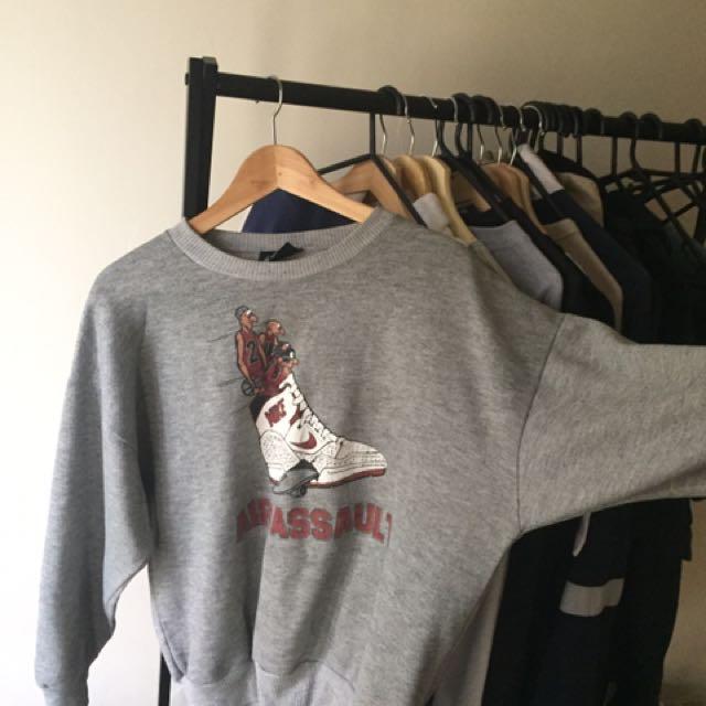 VINTAGE Nike Sweatshirt 1980s