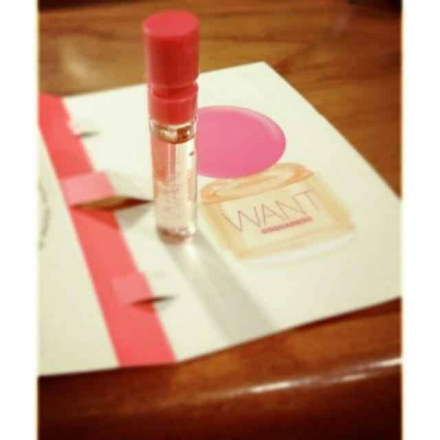 WANT 粉紅女性淡香精針管 1.5ml