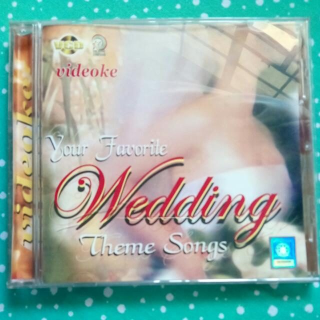 Wedding Theme Songs Original VCD