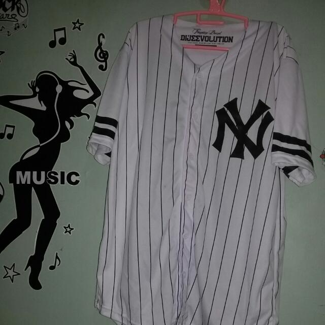 White Blouse Baseball NY