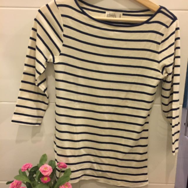 Zara Cotton Stripe Shirt
