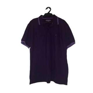 GIORDANO Purple Polo Shirt