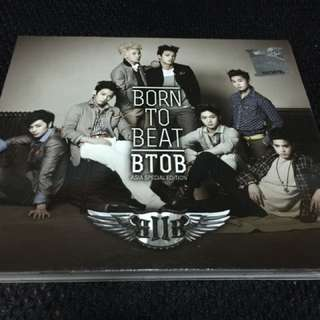 Btob - Born To Beat ( Asia Special Edition )