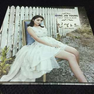 Hong Jin Young - Life Note ( First Mini Album )