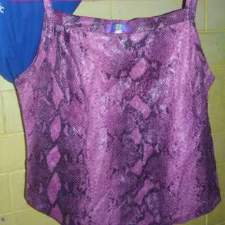 Purple Semi Croptop V