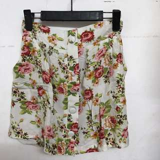 Floral Skirt (Cotton On)