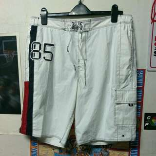 Vintage Tommy Hilfiger 白色海灘褲 全新含吊