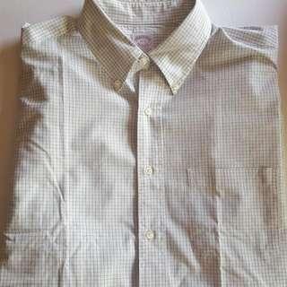 Brooks Brothers Long Sleeve Dress Shirt