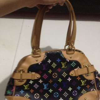 Original LOUIS VUITTON - Multicolor Claudia Bag  This was a gift for me but never been used since then.
