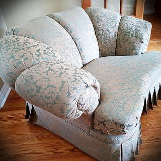 2 Sofas /couch ( Option To Be Sold Separately)