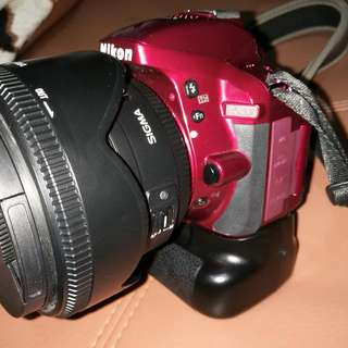 Nikon D5300 Red Edition