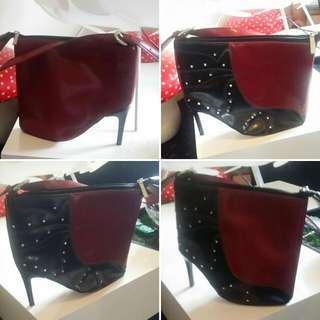 High Heel Shoe Handbag In Excellent Condition