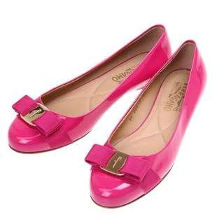 Ferragamo Varina Flats (1cm) Size 8