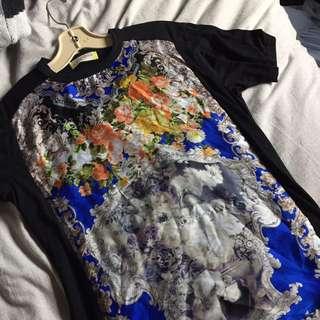 Oversized Print Tshirt