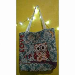 OWL BAG (TOTE BAG)