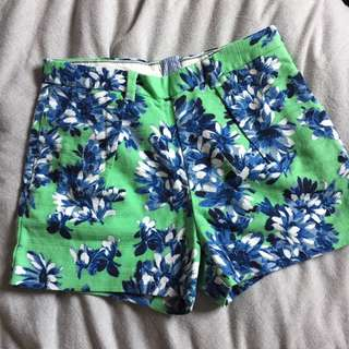 Printed Jcrew Shorts