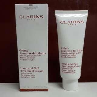 Authentic CLARINS Paris Hand And Nail Treatment Cream
