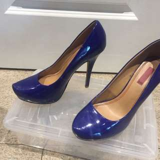Cobalt Blue Stilettos