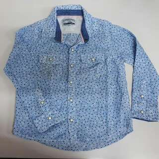 Gingersnaps Blue Polo For Boys