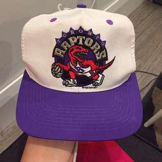 Vintage raptors hat