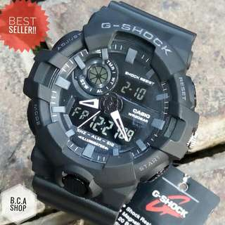 GSHOCK / Casio GShock GA700 HITAM SUPER LIMITED EDITION