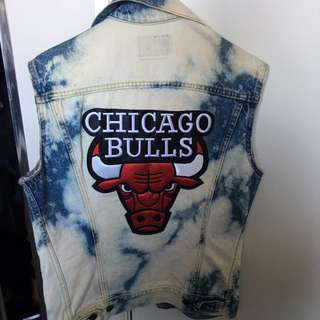 Levi's Chicago Bulls Denim Vest