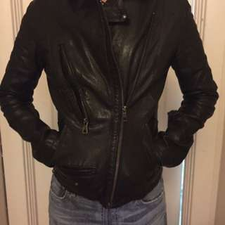 Rudsak Leather Jacket XS