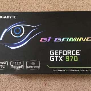 GIGABYTE GeForce GTX 970 G1 Gaming 4GB GDDR5