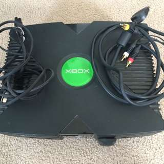 (Original) XBOX and controllers