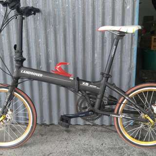 Landrover Foldable Bicycle.....