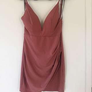 Kyan Dress - Mauve