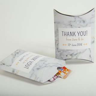 Pillow Box Packaging (customised)