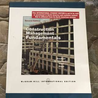 Construction Project Management Book