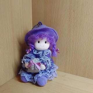 超Q的薰衣草色娃娃